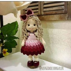 102 Best Amigurumi images in 2020 | Crochet dolls, Amigurumi doll ... | 237x236