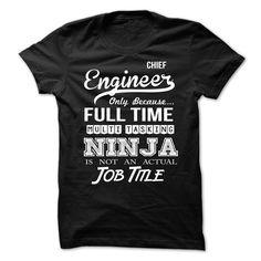 Chief Engineer T-Shirts, Hoodies, Sweaters