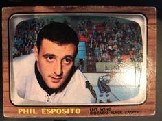 Hockey Cards, Baseball Cards, Phil Esposito, Boston Bruins Hockey, Hawks, Trading Cards, Nhl, Black, Peregrine