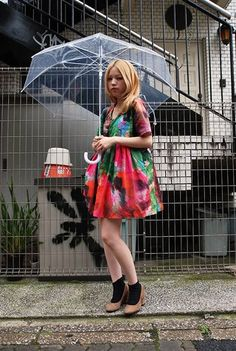 photo drop4.jpg Multicolour dress