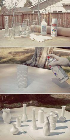Как правильно окрашивать сосуды в домашних условиях для создания ваз