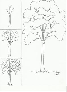 These steps are so easy which you can learn in a few minutes and with small efforts with 20 ideas for step by step art drawings to practice in free time. to drawing a tree 20 Step by Step Art Drawings to Practice in Free Time Flower Drawing Tutorials, Art Tutorials, Trees Drawing Tutorial, Painting Tutorials, Drawing Lessons, Drawing Techniques, Easy Drawings, Pencil Drawings, Painting & Drawing