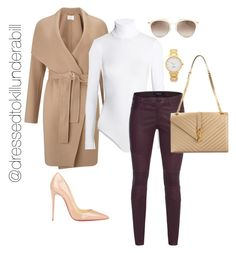 """""""For those stylish winter days"""" by nicolemorris87 on Polyvore featuring Christian Louboutin, HUGO, Wolford, J Brand, Yves Saint Laurent, Christian Dior and Kate Spade"""