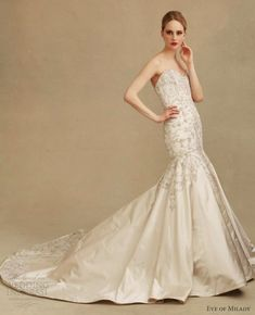 More beautiful wedding dresses from Eve Muscio Couture 2013 collection. Description from weddinginspirasi.com. I searched for this on bing.com/images