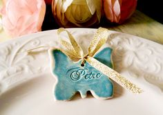 marturie Blue Butterfly de myweddingstory pe Breslo