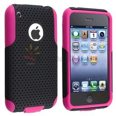 Black Mesh, Cell Phone Accessories, Apple Iphone, Teen, Phone Cases, Electronics, Pink, Ebay, Phones