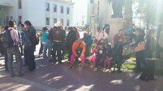 Se plantan Antorchistas frente a Palacio de Gobierno; exigen cumplimiento de minuta 2014 | El Puntero