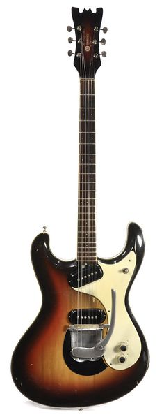 "MOSRITE ""Joe Maphis"" Sunburst 1963 