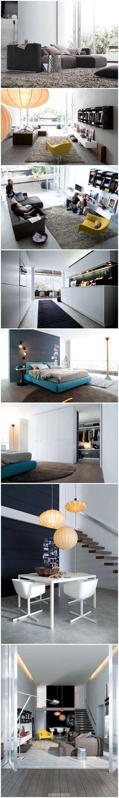 Fresh modern loft