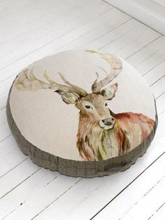 Voyage Maison - Stag Floor Cushion - cool!