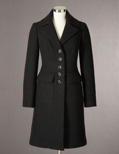 Just got the Marylebone Coat from Boden USA. It's awesome. Great cut, perfect length and looks like it will go with everything. Mary Poppins Halloween Costume, Boiled Wool Coat, Costume Design, I Dress, Cosplay Costumes, Suit Jacket, Clothes For Women, My Style, Womens Fashion