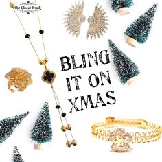 Has your Xmas countdown begun yet🎄?  #shopnow for all the #bling #baubles on www.theglocaltrunk.com . . . . #theglocaltrunk #onlinestore #jewelrygram #handmadejewellery #blackandgold #christmasshopping #christmasjewellery #fashionjewellery #necklaces #earrings #rings #bracelets #onlinestore #onlinesshopping #onlinestore #costumejewelry #imitationjewellery #holidayshopping #holidaystyle #christmasstyle #christmasgiftsideas #jewelleryonline #giftsonline #giftvouchers #secretsanta