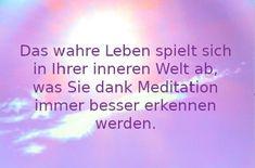 Täglich meditieren macht glücklich und erfolgreich | Vision & Ziele Meditation, Real Life, Consciousness, Goal, Thoughts