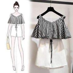 31 Ideas For Fashion Design Sketches Clothing Style - asha goinka Korea Fashion, Asian Fashion, Look Fashion, Girl Fashion, Womens Fashion, Fashion Drawing Dresses, Fashion Dresses, Color Combinations For Clothes, Dress Sketches