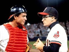 """""""Major League"""", Tom Berenger and Charlie Sheen, 1989 Tom Berenger, Charlie Sheen, Book Of Job, The Book, Baseball Movies, Baseball Quotes, Cubs Players, Moving To Miami, Modern Games"""