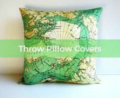 no sew  tie in the back throw pillow