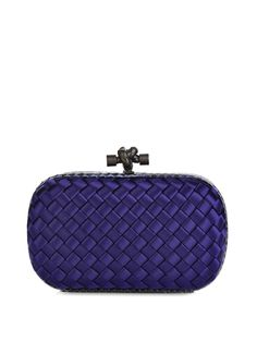 Knot satin and water-snake clutch | Bottega Veneta | MATCHESFASHION.COM UK