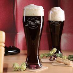 Personalisierbares Weizenbierglas | design3000.de