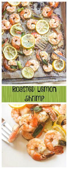 roasted lemon shrimp