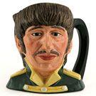 Royal Doulton Odd-size Character Jug, Ringo Starr D6726, Odd Size