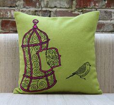 freebird cushion cover by plum chutney | notonthehighstreet.com