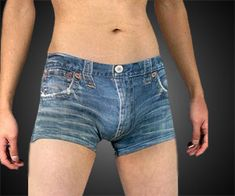 Boxers que parecen jeans | La Guarida Geek