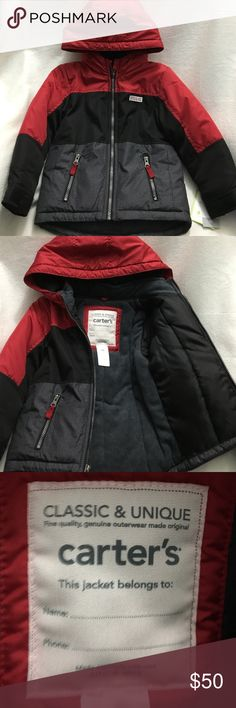 Boys winter jacket Really nice winter jacket for toddlers Adventure Gear outfitter Carters Jackets & Coats