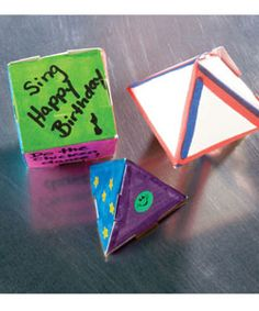 but with scriptures - ? - Athens VBS | Geo-mazing Shapes | Using geometric principles from ancient Greece, participants transform a flat sheet of paper into surprising three-dimensional shapes—and use them to play a new game that's…well…Geo-Mazing! #VBS