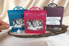 Pop Up Cards – It's Always Teatime Alice in Wonderland – a unique product by ColibriGift on DaWanda