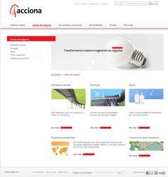 Web corporativa de ACCIONA - ACCIONA