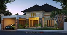 Minimal House Design, Minimal Home, Home Building Design, Building A House, Modern Bungalow House, House Elevation, My Dream Home, My House, Architecture Design
