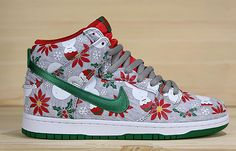 Releasing: CNCPTS x Nike SB Dunk High 'Ugly Christmas Sweater'