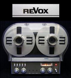 Audio Tape Machine Revox A-77 Tape Reel To R. Studer Tape Deck Tape Machine A 77