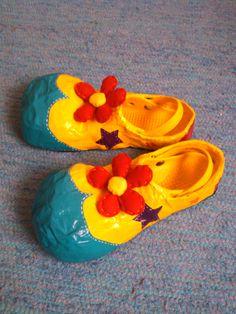 2 - Clown shoes - Papel Maché - Teresa Roque