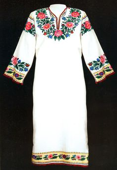 FolkCostume&Embroidery: Costume and Embroidery of Bukovyna, Ukraine, part 2 khlopianka Art Costume, Folk Costume, Folk Clothing, Costume Design, Ukraine, Mexicans, Embroidery, Womens Fashion, Cross Stitch