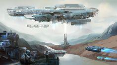 Art illustration - Science Fiction