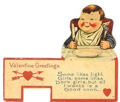15 Vintage Valentine Cards with Funny Messages - Oddee.com (vintage cards, funny valentine cards)