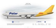 Boeing 747-8F Polar Air Cargo N853GT | www.aviaposter.com | Civil aircraft art print | www.aviaposter.com | #scetch #art #airliners #aviation #aviaposter #jetliner #b747 #jumbojet