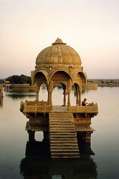 Gadisagar Lake, Jaisalmer, via Flickr. By Dey ૐ Didi  This photo was taken in November 1995. Rajasthan, India: Rajasthan is one of the most exciting states of India to visit. It is the state of history, cultures, traditions, heritage and celebrations. Large numbers of travelers visit this landscape every year from each corner across the globe.