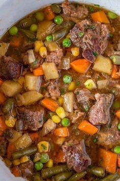 Gemüse Rindfleisch Suppe