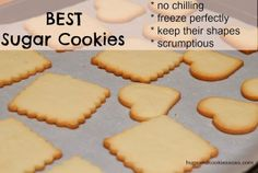 You searched for Best sugar cookies - Hugs and Cookies XOXO Roll Cookies, Best Sugar Cookies, Butter Cookies Recipe, Yummy Cookies, Delicious Cookie Recipes, Dessert Recipes, Baking Recipes, Best Christmas Cookies, Christmas Goodies
