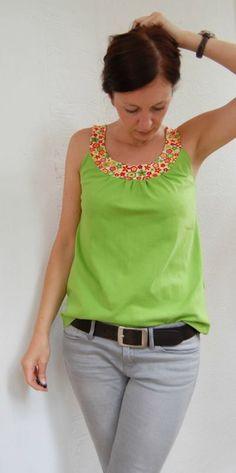 Lady Topas, Kreativ-FREEbook - farbenmix Online-Shop - Schnittmuster, Anleitungen zum Nähen (Diy Clothes Shirts)