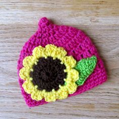 Ravelry: LBK63's Sunflower Pixie Hat