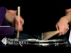 Snare Drum Rudiments - Music School - YouTube