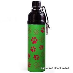 Longpaws Green Paws Water Bottle 750ml We think this is the best dog bottle ever…