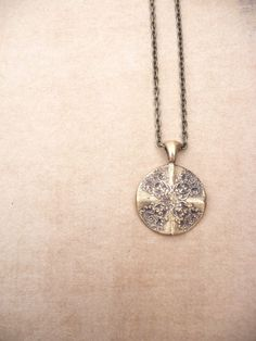 Victorian lace necklace pendant made from vintage by DreamofaDream