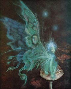 Fairy by Brian Froud - Intl. Starseed Network