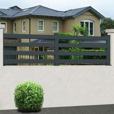 We have a large range of garden fences to protect your home in style, ✅ state-of-the-art material ✅ Direct factory prices ✅ Resistant to the most extreme weather conditions ✅ 10 year manufacturer guarantee Aluminium Fencing, Aluminum Fence, Gate Automation, Protecting Your Home, Garden Fencing, Extreme Weather, Entrance Doors, Eco Friendly, Outdoor Decor