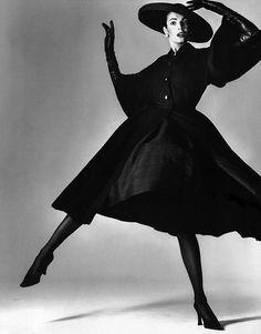 "Stephanie Seymour, Photographed by Richard Avedon; Editorial:  ""La Passante Du Siecle"", Egoiste France, 1992"