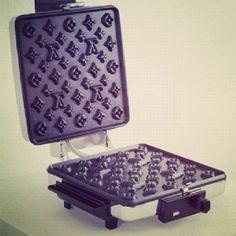 Louis Vuitton waffle maker- sign me up!!!
